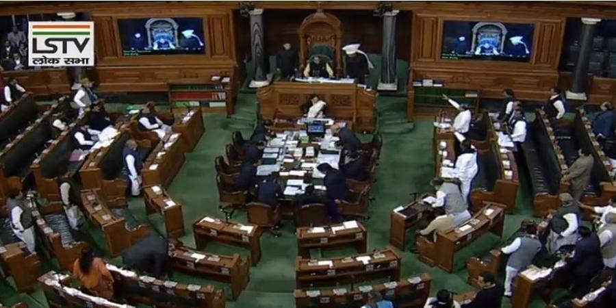 Lok Sabha Budget session 2020.