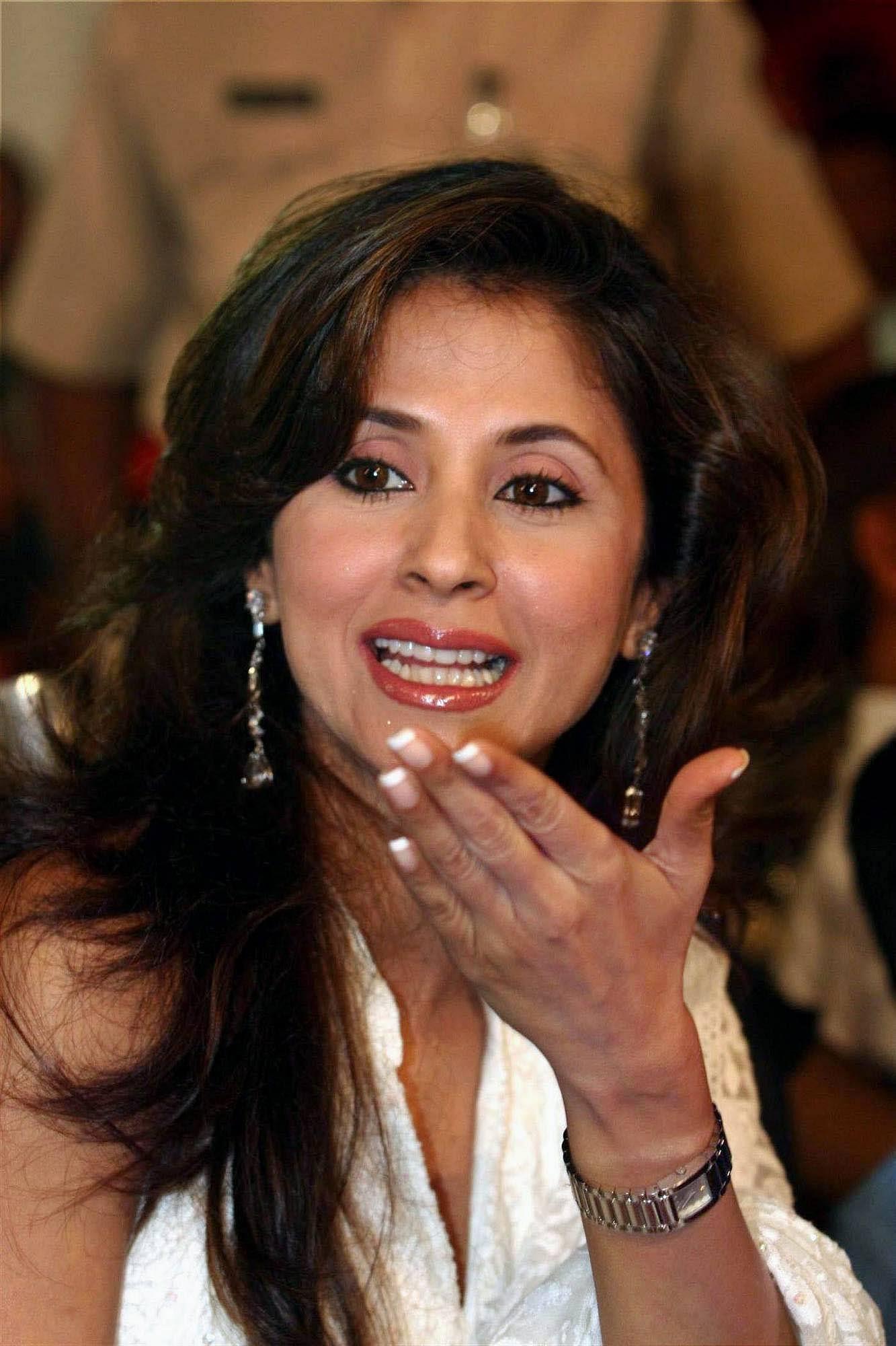 Bollywood actress Urmila Matondkar at a sports event organised by NGO Samvedna in Mumbai.