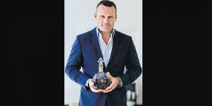 Jörg Pfützner, as the official representative for Louis XIII cognac, is in India to expand the brand's footprint in an old market.