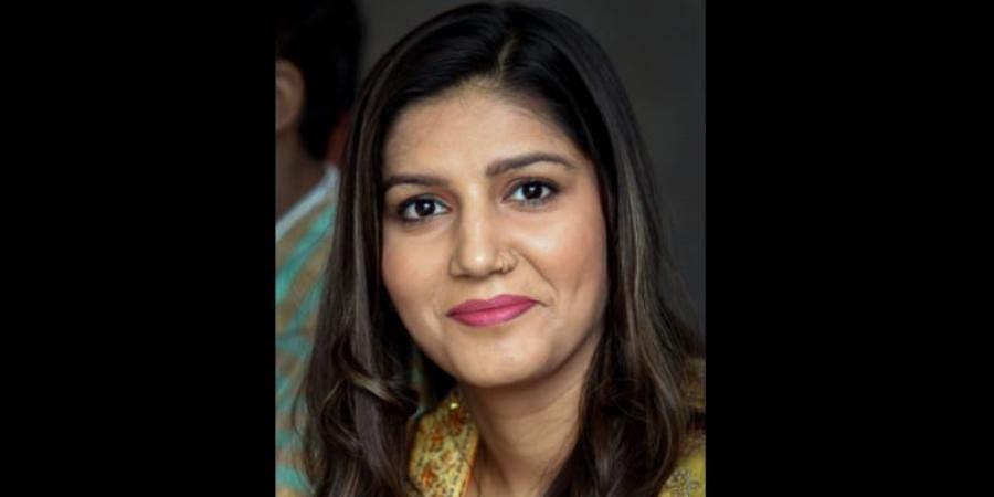 Haryanvi singer and dancer Sapna Chaudhary