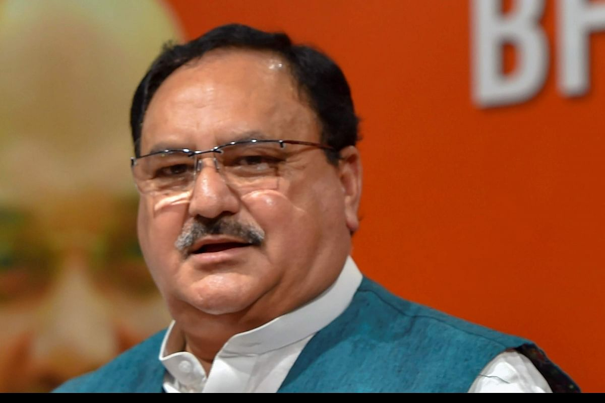 BJP chief JP Nadda asks Arvind Kejriwal if he would 'burn down' Delhi to  defeat Modi-Shah- The New Indian Express