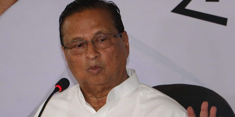 President of Odisha Pradesh Congress Committee Niranjan Patnaik.