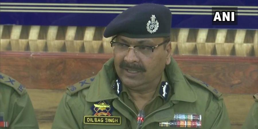 Jammu & Kashmir DGP Dilbag Singh