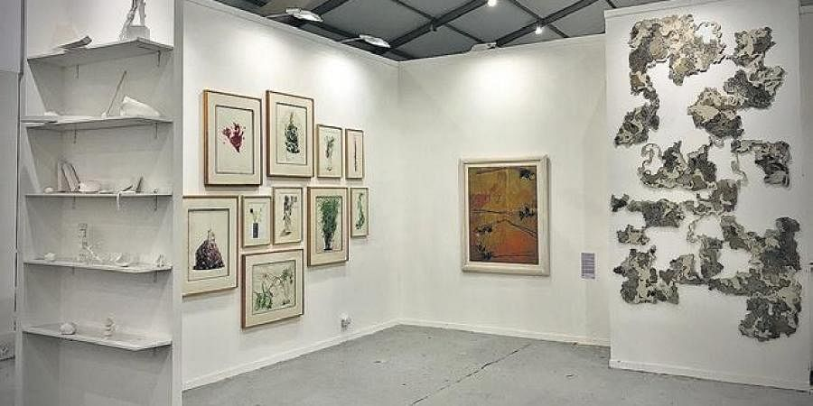 Threshold Art Gallery booth at IAF