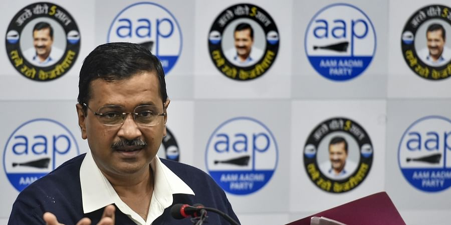 Delhi Chief Minister AAP convenor Arvind Kejriwal addresses a press conference at the party headquarters in New Delhi Thursday Jan. 9 2020. (Photo | PTI)