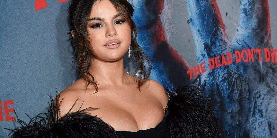 Pop star Selena Gomez