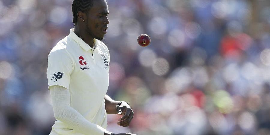 England's Jofra Archer (Photo | AFP)