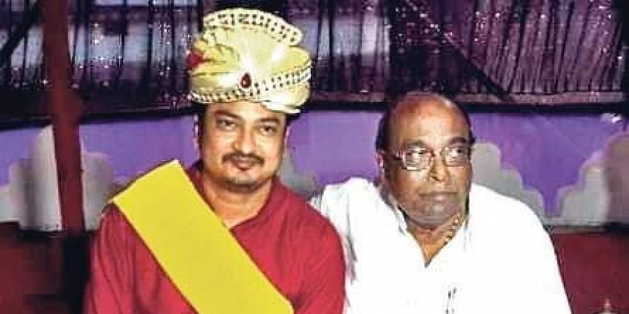 Damodar Rout and his son Sambit Routray