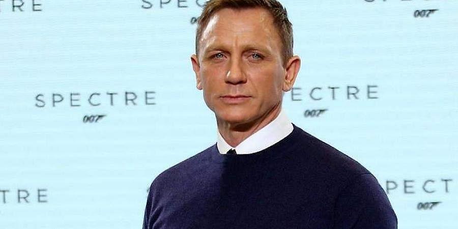 Hollywood actor Daniel Craig
