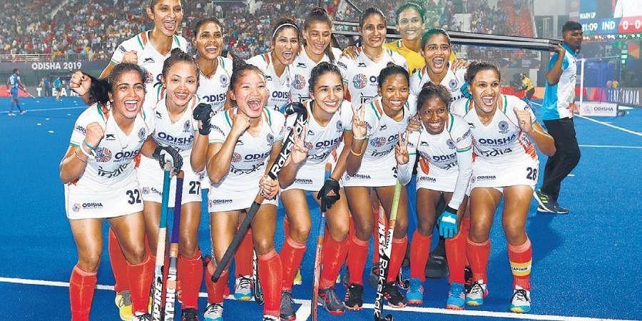 India women's hockey team.