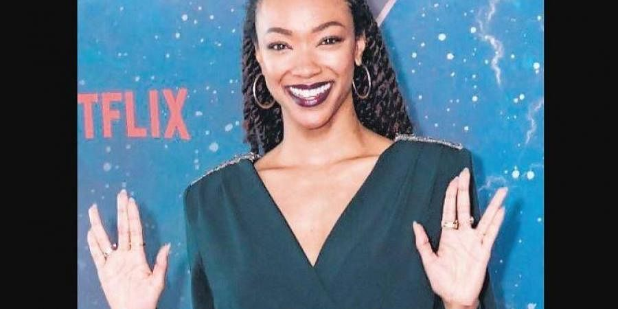 Sonequa Martin-Green is the first woman of colour to ever lead a show of the Star Trek franchise.