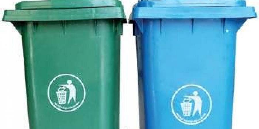 The EDMC had distributed dustbins.