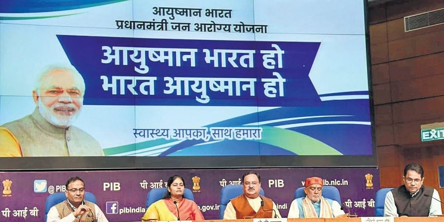 Pradhan Mantri Jan Aarogya Yojana has been showcased as one of the Modi government's flagship schemes.