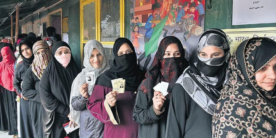 Delhi polls: Protesting Muslims throw their support behind ruling AAP- The  New Indian Express