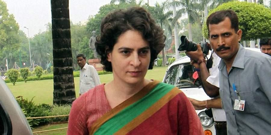 Congress general secretary Priyanka Gandhi Vadra