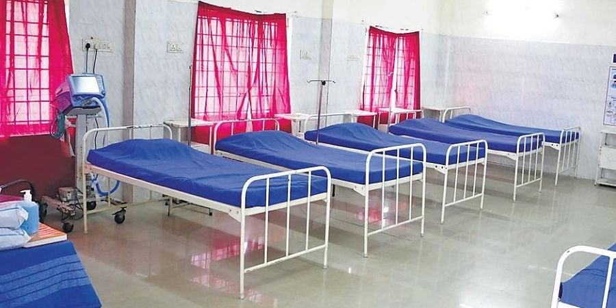 Coronavirus isolation ward at Government Hospital