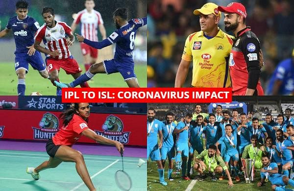 Check out the list of sports events affected by the novel coronavirus outbreak in India.