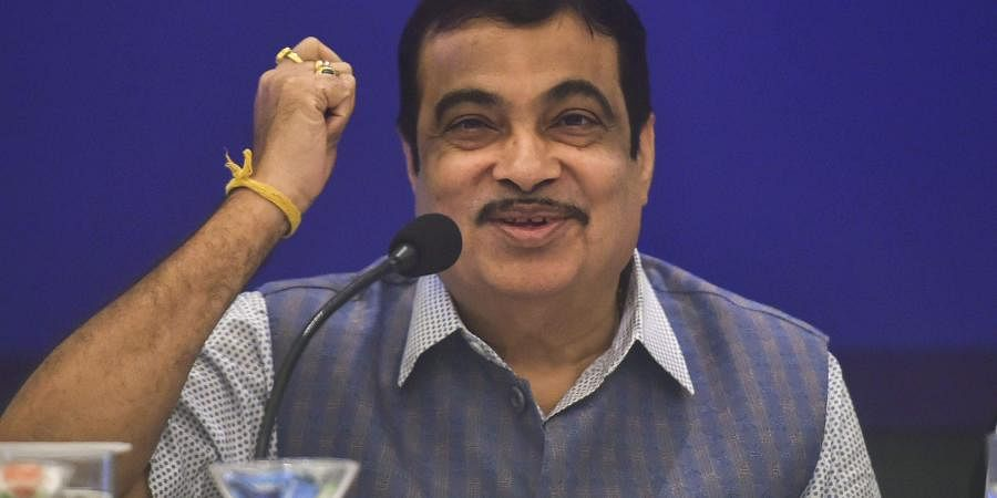 Union Minister for Road Transport and Highways Nitin Gadkari at a press conference in Mumbai Monday September 9 2019. | PTI