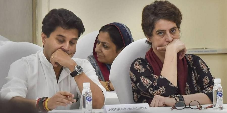 Jyotiraditya Scindia was also appointed party general secretary along with Priyanka Gandhi and was given the charge of western UP districts ahead of Lok Sabha elections in January 2019.
