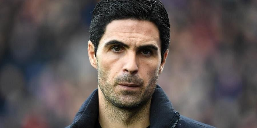 Arsenal's Spanish head coach Mikel Arteta. (Photo | AFP)