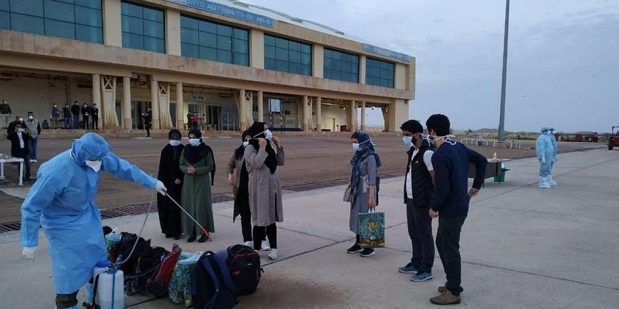 This is the fourth batch of Indians evacuated from Iran.