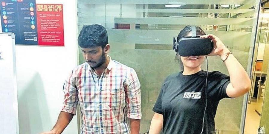 Hyderabad startup scene is rich in EmergingTech and OperationsTech besides robotics and DigitalTech. (Photo | EPS)
