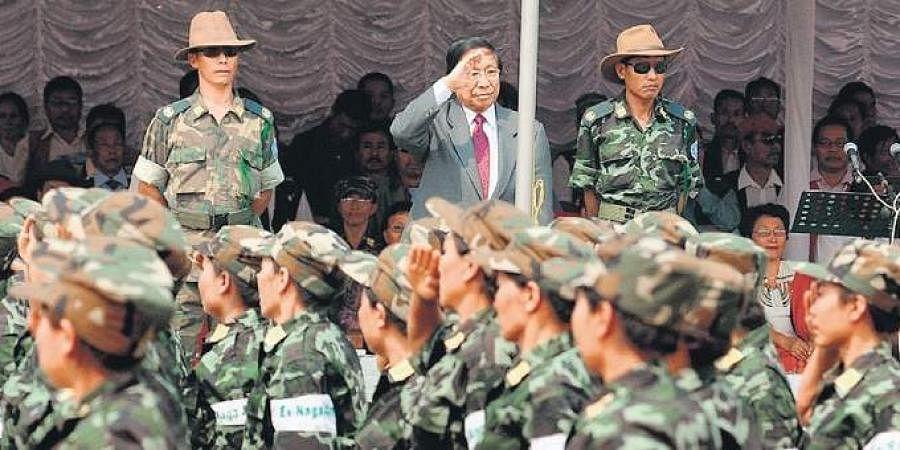 Naga group National Socialist Council of Nagalim (NSCN-IM)