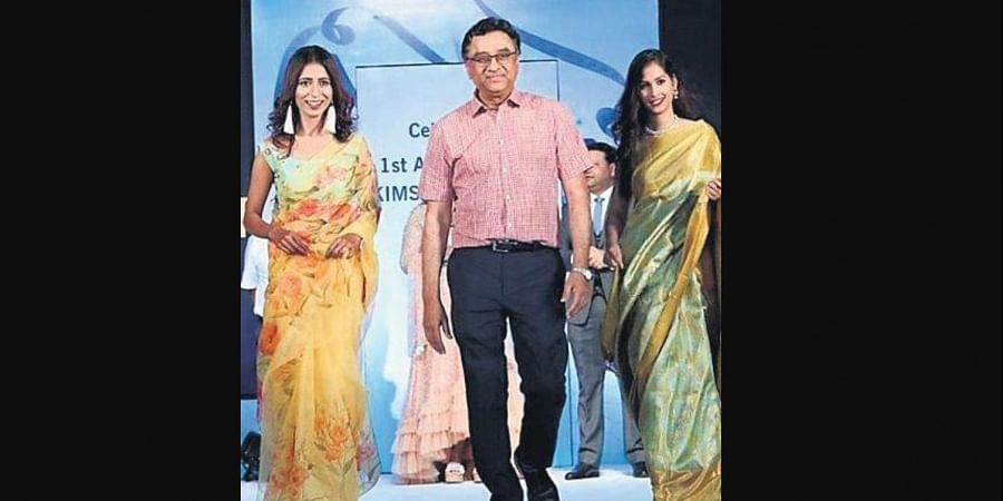 Dr AV Guruva Reddy is so much more than a doctor. He walks the ramp, shakes a leg for a hit number and does Youtube videos about his love for street food for his fans.