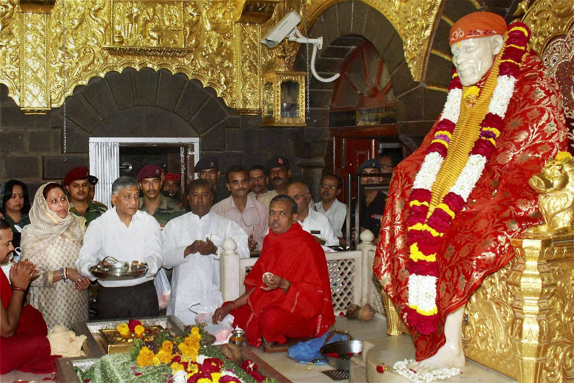 In the wake of coronavirus outbreak, Shirdi Saibaba Temple in Maharashtra was declared shut for devotees on March 17 till further orders.