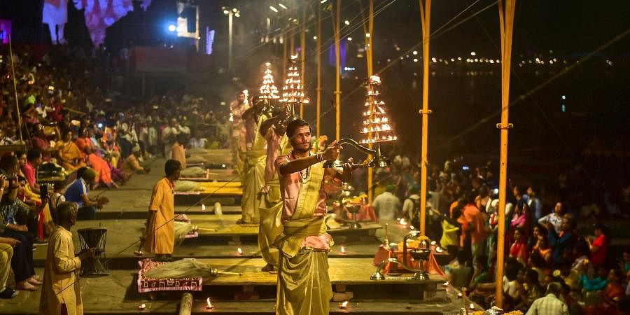 Varanasi district administration banned the Ganga Aarti and Yoga camps in the Laxmanjhula area of Tehsil Yamkeshwar till 31 March. Tourists have also been disallowed to be involved in Aarti programs in temples