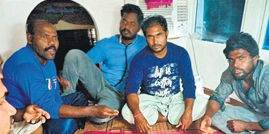 The fishermen stranded in Iran allege that the Indian Embassy is yet to reach out to them.