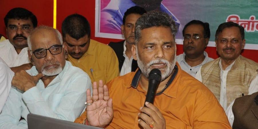 Jan Adhikar Party chief Pappu Yadav. (Photo  EPS/ Ranjit K Dey)