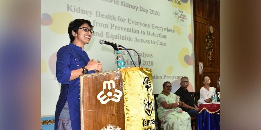 Actor Aparna Gopinath was the chief guest