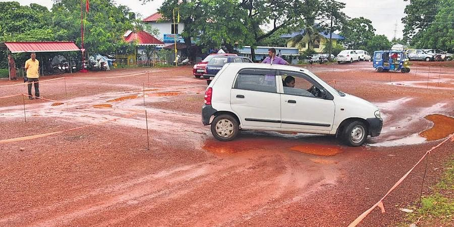 An international driving licence aspirant undergoing test in Kakkanad. This image is used for representational purposes.