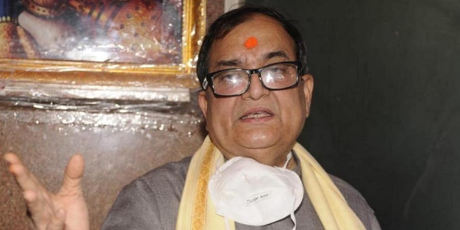 Patna Mahavir Temple Trust Committee secretary Kishore Kunal