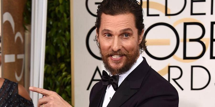Hollywood star Matthew McConaughey
