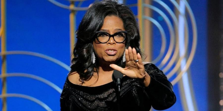 Media mogul Oprah Winfrey