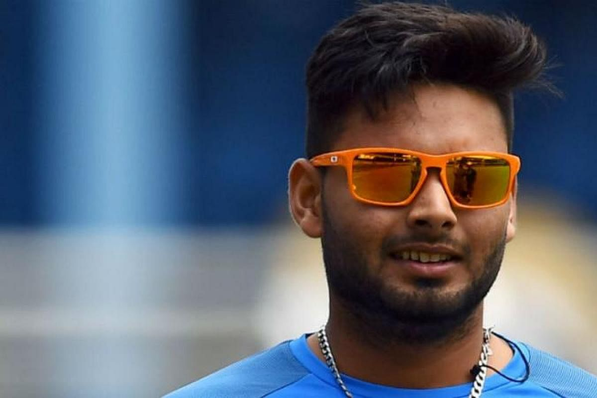 Have asked Rishabh Pant to try a few things while keeping ...