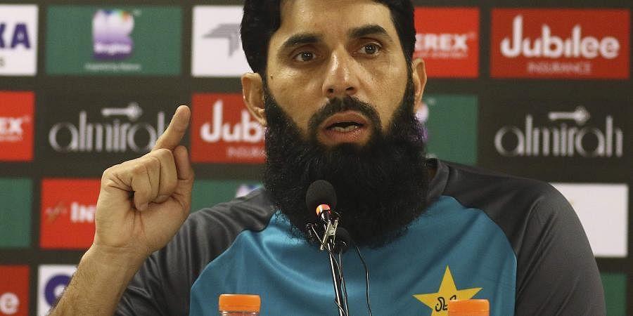 Pakistan head cricket coach Misbah-ul-Haq