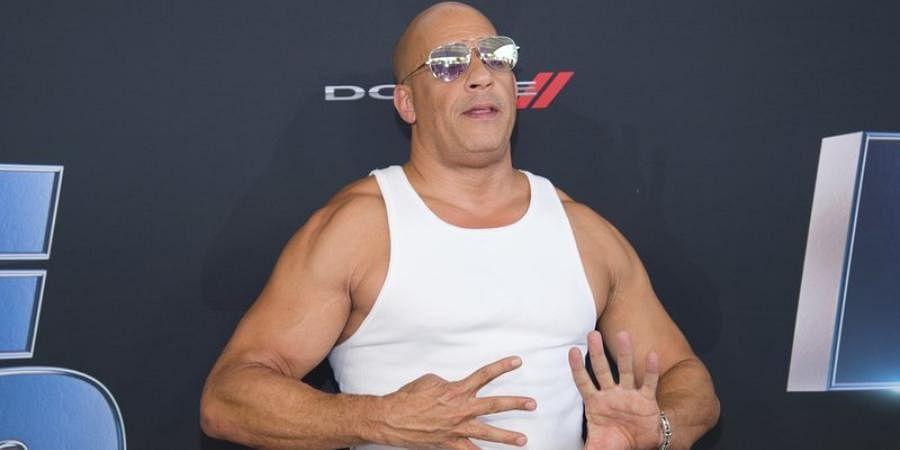 Hollywood actor Vin Diesel