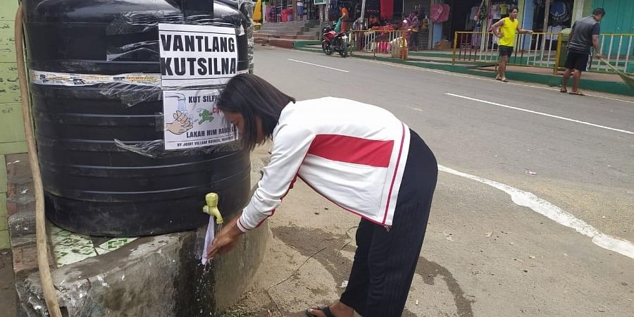 18 water tanks have been installed at nine places such as Vairengte, Bilkhawthlir, Saiphai, Saipum, Phainuam, Saihapui V, Phaisen, Buhchangphai and Rengtekawn so people can frequently wash their hands as advised by the government.