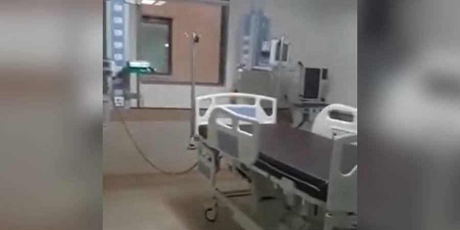 COVID-19 dedicated hospital wing in Mumbai..