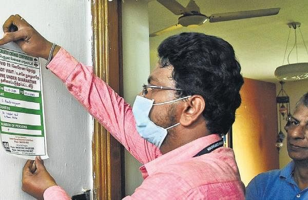 In a first, home quarantined Chennai man booked for 'roaming'