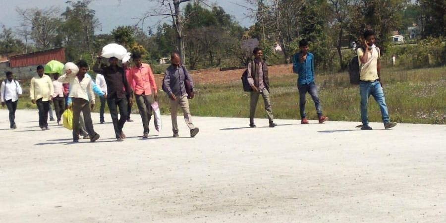 More than 15 lakh migrant labourers from 22 districts, including Ganjam, Kendrapara, Balangir, Sundargarh and other parts of the State, move to Gujarat, Maharashtra, Andhra Pradesh, Telangana, Tamil Nadu and Karnataka for a six month period beginning October.