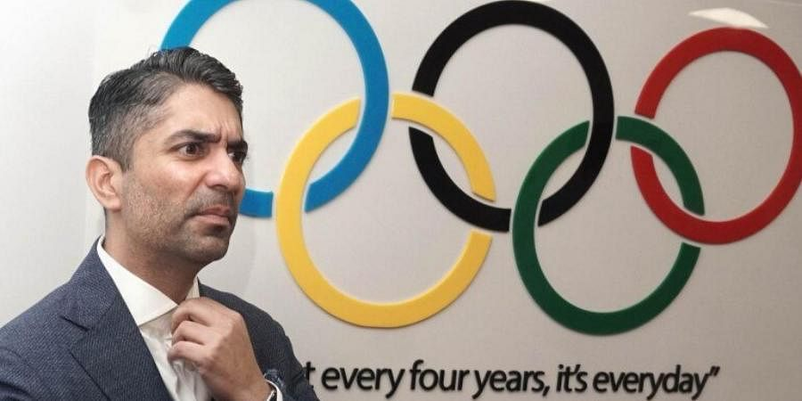 2008 Olympic gold medallist Abhinav Bindra