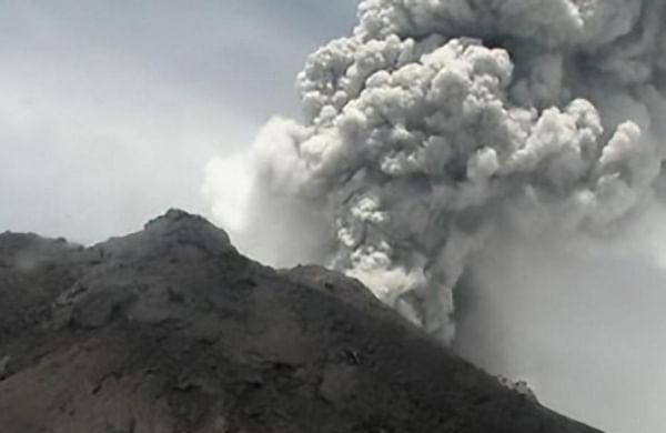 Indonesia's volcano spews massive ash cloud