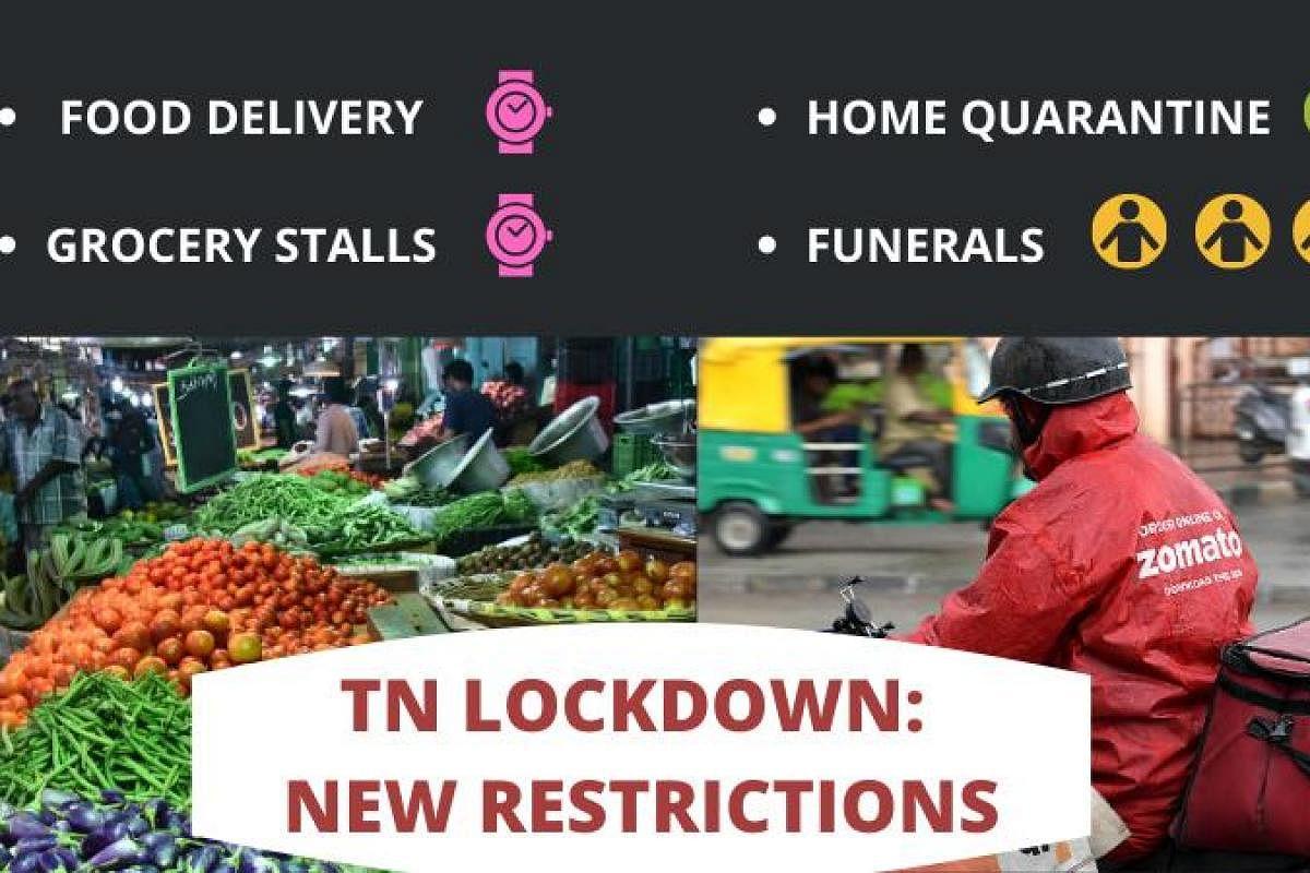COVID 20 Tamil Nadu government imposes fresh lockdown ...