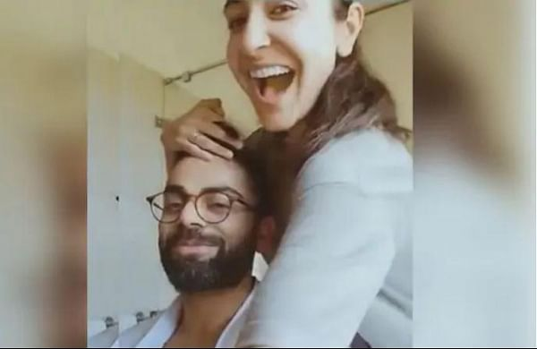 Virat Kohli making most of quarantine, gets haircut from Anushka Sharma