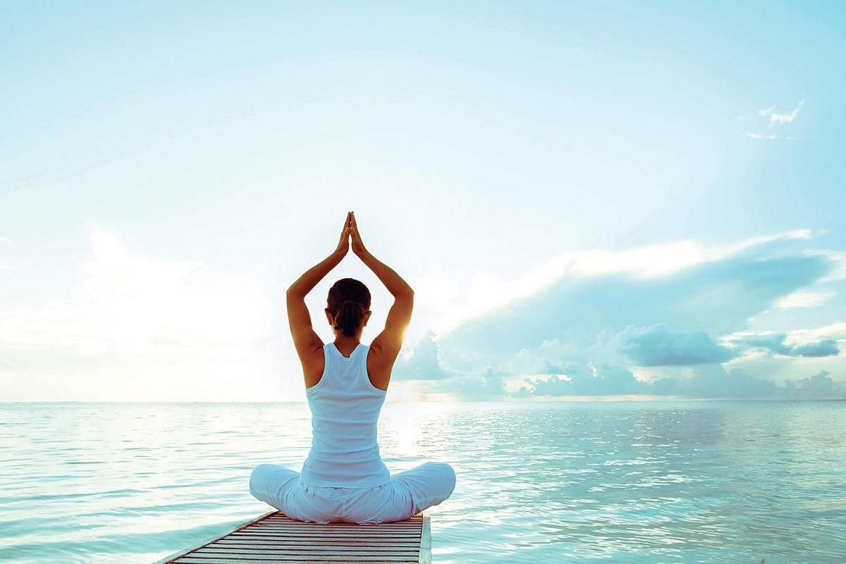 Yoga helps beat the fear of coronavirus- The New Indian Express