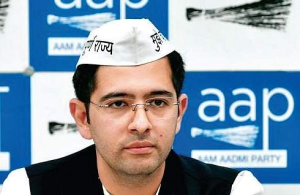 FIR against AAP's Raghav Chadha for remarks on UP CM 'beating migrant workers'